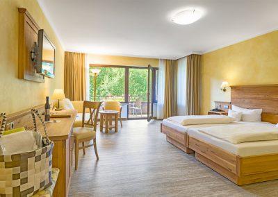 Komfortdoppelzimmer mit eigenen Balkon