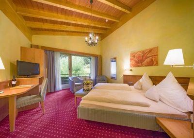 Standard Doppelzimmer auf der Hotelnordseite