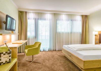 Standard Einzelzimmer mit gemütlicher Atmosphäre